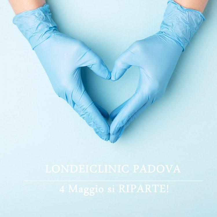 Riapertura londeiclinic padova chirurgia estetica medicina estetica