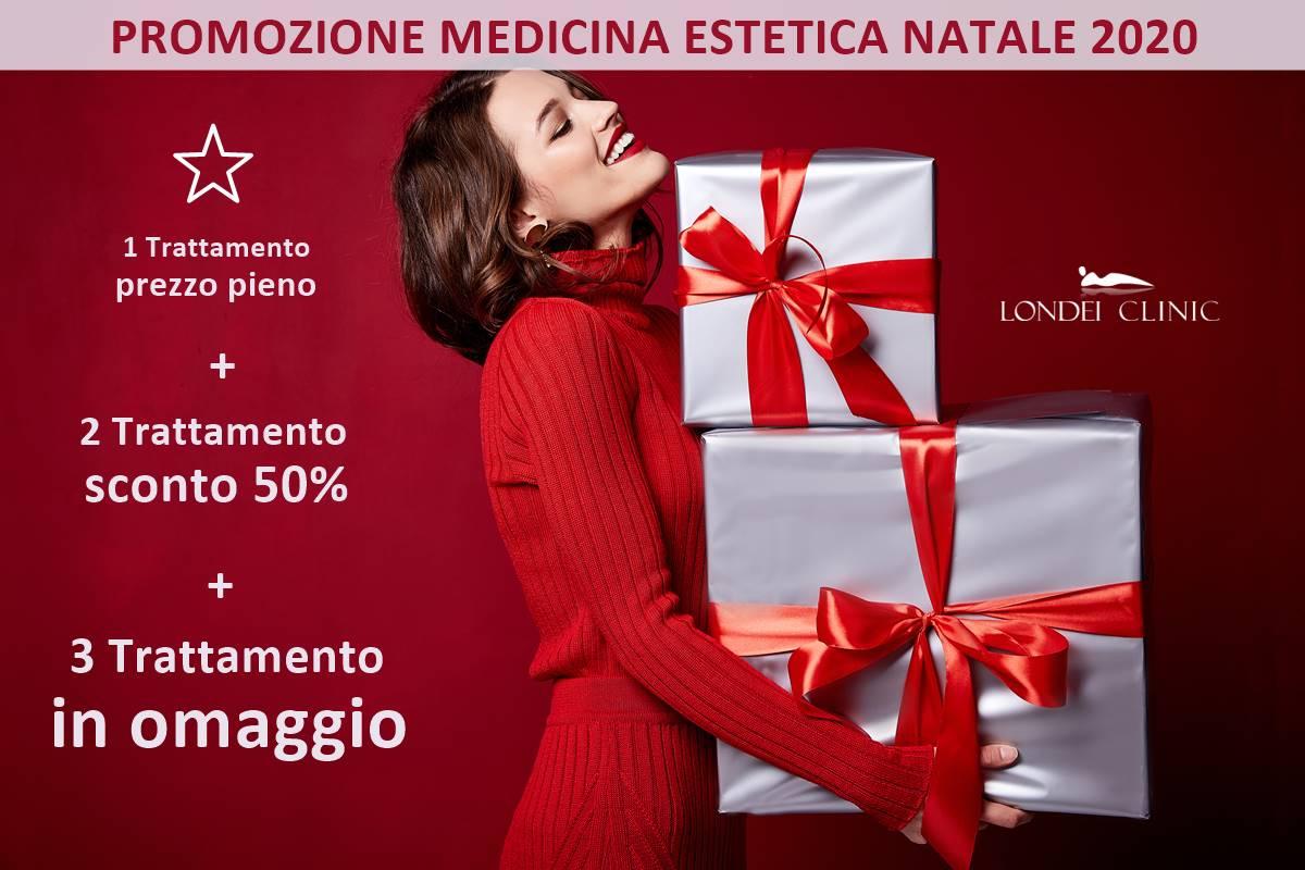 Promozioni medicina estetica offerte e sconti sui trattamenti natale 2020